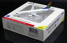 South African Airways B737-800 Reg:ZS-SJR  Scale 1:400 Diecast Models  WT4738019