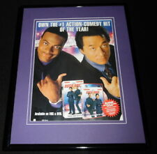 2002 Rush Hour 2 11x14 Framed Original Advertisement Jackie Chan