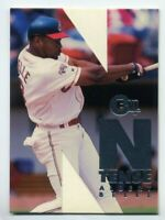 1996 Skybox Emotion ALBERT BELLE Rare N-TENSE INSERT CARD #1 Cleveland Indians
