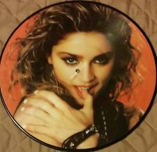 """RARE! MADONNA FAN CLUB """"I CAN SING LIKE A VIRGIN""""(12' PICTURE DISC)VINYL LP"""