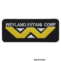 Weyland yutani Corp Iron on Sew on Patch Embroidered Patch for Clothes etc