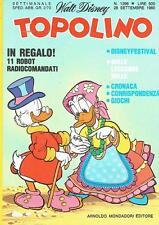 TOPOLINO N.1296 del 28 settembre 1980 - Con cedola libraria