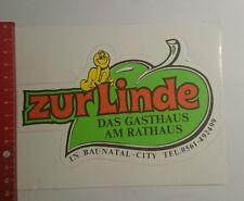 Aufkleber/Sticker: zur Linde das Gasthaus Am Rathaus Baunatal (160916178)