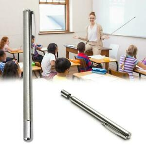 Steel Telescopic Ball Pen Pocket Instrument Best Baton F0X5
