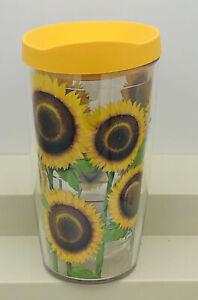 Sunflower TERVIS 16 Oz. Tumbler with Lid New Travel Mug