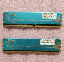 4GB (2x2GB) G.Skill DDR2 1066 desktop DIMMs PC2-8500U F2-8500CL5D-4GBPK memory