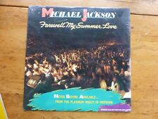 MICHAEL JACKSON SEALED LP FAREWELL MY SUMMER LOVE N.O.S.