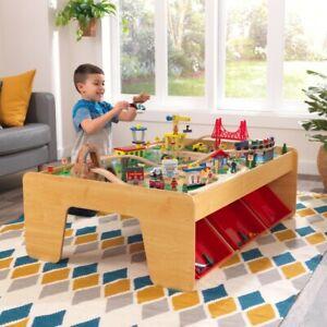 Kidkraft wooden Waterfall Mountain Train Set & Table