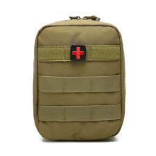outdoor survival first aid pvc red cross hook loop fastener badge patch 4×4cm