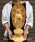 17  China Boxwood Carving Buddhism Shakyamuni Amitabha Buddha Sakyamuni Statue