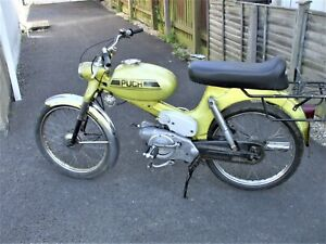 PUCH M3 SPORT THREE SPEED FOOT CHANGE MODEL.