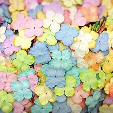 Pastel Hydrangea Mulberry Paper Petal for Card Making Craft & D.I.Y. Scrapbook