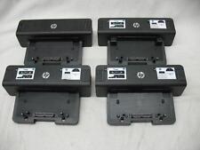 LOT of (4) HP Docking Stations HSTNN-I11X V1 Dock Port Laptop Notebook Black