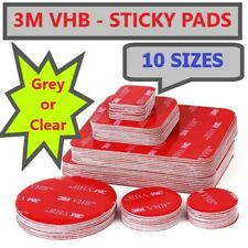 3M DOUBLE SIDED STICKY PADS Strong Heavy VHB Adhesive Mounting Tape Square Round