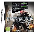 NDS DSi Juego Transformers 3 - Dark of the Moon - Decepticons EDITION + Auto