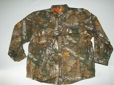 CARHARTT Realtree CAMO WEXFORD Quilted Lined Hunting Shirt JACKET Mens Sz XL NEW
