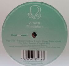 "V-Sag ""Thespian"" * Original Mix +Kasey Taylor Re-Edit / Andrew K Remix / VR12053"