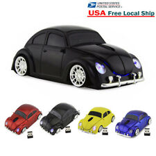 2.4Ghz Wireless Beetle car Mouse optical PC Laptop Game Mice + USB Dongle US