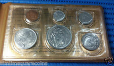 1971 Singapore Mint's Lunar Boar Circulated Coin Set ($1 Stylised Lion Coin)