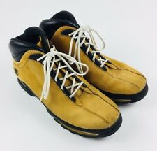 Mens Timberland Euro Dub Low Ankle Boots Wheat Size 10M Hiking Casual