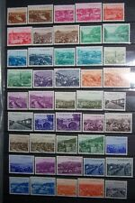 1958 Turkey Great Country Towns Mosque Islam Islamic Muslim Set of 134 Stamp MNH