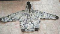 Camoflauge hooded jacket,   Everywear West, size XL.  NWOT