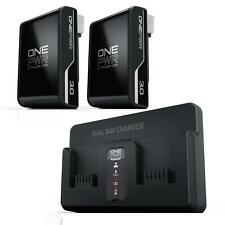 Hoover ONEPWR 3.0 Battery Starter Kit - 2 ONEPWR 3.0 Battery & Dual Bay Charger
