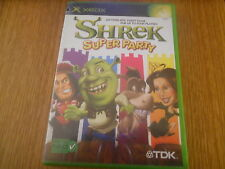 Shrek Super Party Jeu XBOX PAL Complet