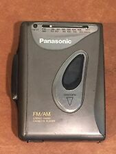 Vintage Panasonic Model Rq-V60 Walkman Portable Cassette Tape Player Am/Fm Radio