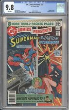 D.C. Comics DC COMICS PRESENTS #25 CGC 9.8 NM/MT (1980) White Pages