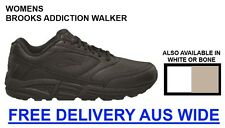 Brooks Addiction Walker Womens Leather Walking Shoes - FREE DELIVERY AUS WIDE