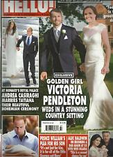 HELLO !  SEPTEMBER, 16th 2013  NO. 1294 ( GOLDEN GIRL VICTORIA PENDLETON WEDS IN