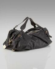 Foley & Corinna Bridle Duffle BLACK 890731 pebble leather crossbody shoulder NEW