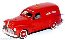 SOLIDO voiture de sapeur pompier PEUGEOT 203 made in France Auto Feuerwehrmannes