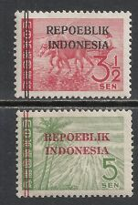 Java&Madoera 1945 ZBL 8-9  MLH  VF