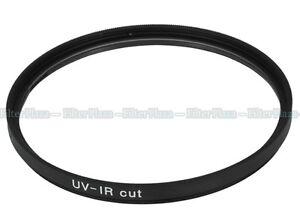 72mm Optical Glass UV IR Infrared Cut Blocking Filter for DSLR Camera lens CCD