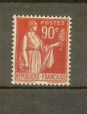 """FRANCE STAMP TIMBRE N° 285 """" TYPE PAIX 90c ROUGE CARMINE """" NEUF xx SUP"""