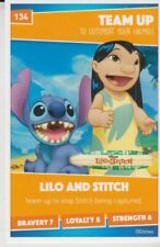 SAINSBURYS HEROES - TRADING CARD - No 134 Lilo And Stitch