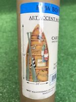 """Carey Lind Art Accent Country Row Boat Prepasted Mural 54"""" X 24"""" New wow"""