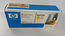 HP Q6002A YELLOW TONE LASERJET 1600,2600,2605