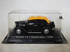 Miniature IXO Véhicule Altaya Taxi du Monde Ford V8 Montevideo 1950 Diecast
