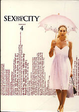 SEX AND THE CITY: SEASON 4 (BOXSET) (DVD) - BRAND NEW SEALED - REGION 1