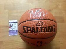 John Wall Signed NBA Replica Basketball Washington Wizards JSA Coa