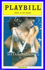 Playbill + Metamorphoses + Anjali Bhimani , Kyle Hall , Raymond Fox , Doug Hara