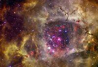 Storm of Stars in the Trifid Nebula Hi Gloss Space Poster Fine Art Print