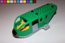 Lego Duplo - Frachtflugzeug - Rumpf ohne Zubehör - grün - aus 5594 - 2. Wahl