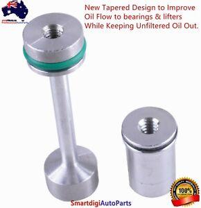 LS Engine Billet Aluminum Oil Diverter Barbell For LS1 LS2 LS3 5.3 LQ9 LS4 LSA