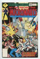 the MICRONAUTS # 3 VF Marvel Comics 1979