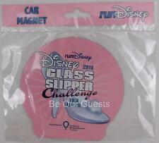 Disney Parks 19.3 Miles Marathon Glass Slipper Challenge 2016 Car Magnet New