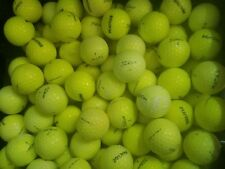 100 USED Yellow Titleist NXT Tour S Practice GOLF BALLS A - AAAA Free Shipping